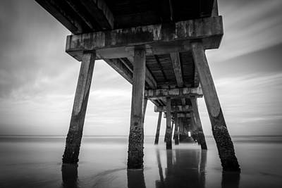 The Pier Art Print by Clay Townsend