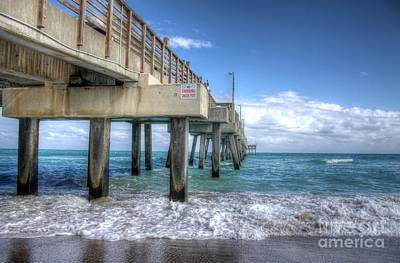 Photograph - The Pier - Dania  Beach Fl by Ines Bolasini