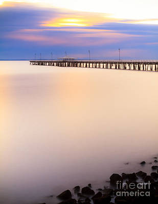 Photograph - The Pier Dreaming by Silken Photography