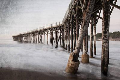 San Simeon Photograph - The Pier by George Buxbaum