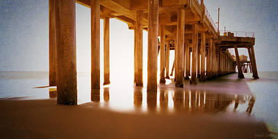 Photograph - The Pier by Heidi Smith