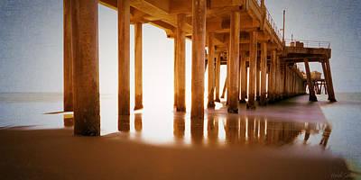 Photograph - The Pier by Heidi Smith