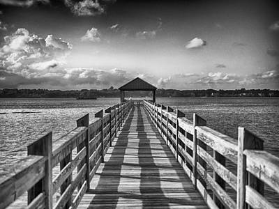 Photograph - The Pier by Howard Salmon