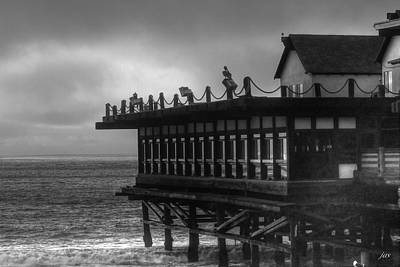 Photograph - The Pier by Judith Szantyr
