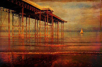 Colwyn Bay Photograph - The Pier by Mal Bray