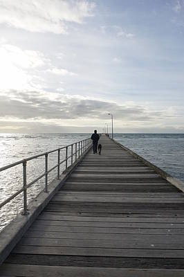 Photograph - The Pier by Maria  Disley