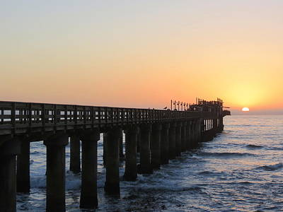 Photograph - The Pier by Ramona Johnston
