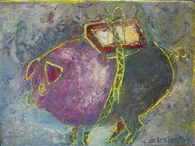 The Pig Original by Gloria De los Santos