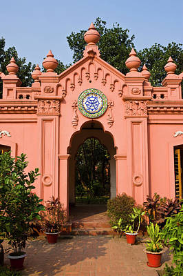 Queer Photograph - The Pink Colored Ahsan Manzil Palace by Michael Runkel