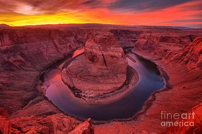 Photograph - The Pink Horseshoe by Adam Jewell