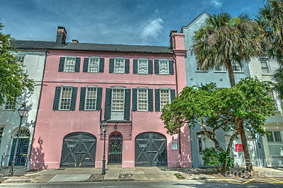 Photograph - The Pink House by Dale Powell