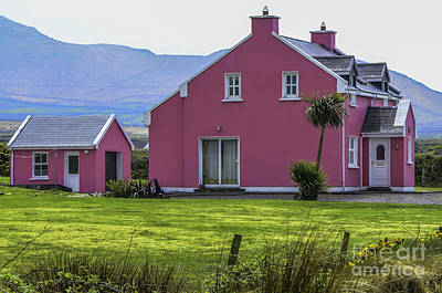 Photograph - The Pink House by Mary Carol Story