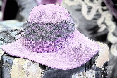 Steampunk Royalty-Free and Rights-Managed Images - The Pink Ladys Hat by Heiko Koehrer-Wagner