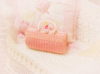 Charming Cottage Photograph - The Pink Purse by Kim Hojnacki