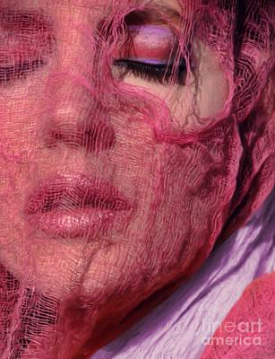 The Pink Scarf Art Print by Jeff Breiman