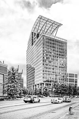 Photograph - The Pinnacle In Buckhead - Atlanta Skyscrapers by Mark E Tisdale