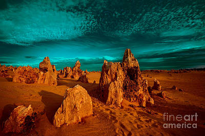 Photograph - The Pinnacles Dusk by Julian Cook