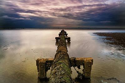 Photograph - The Pipeline by Jean-Noel Nicolas