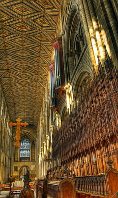 Photograph - The Pipes And Pews by Fiona Messenger