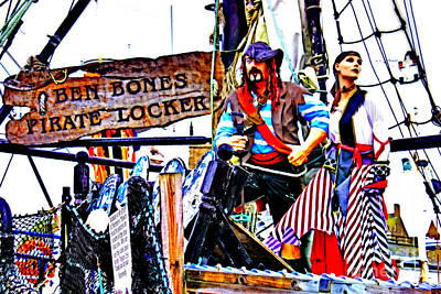 Photograph - The Pirate Of Penzance And His Wife by Terri Waters