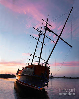Photograph - The Pirate Ship by Barbara McMahon
