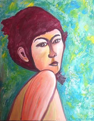 Painting - The Pixie by Esther Newman-Cohen