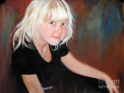 The Pixie Princess Maya Kathleen Burger Art Print by Sharon Burger