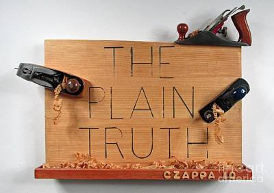 Czappa Sculpture - The Plain Truth  #109 by Bill Czappa