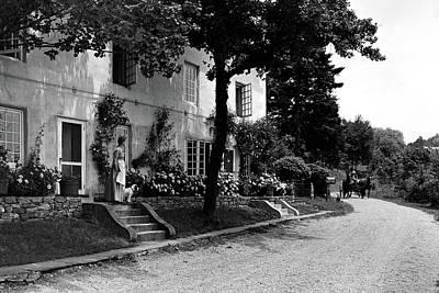 Garden House Photograph - The Platt's House In New Jersey by Samuel H. Gottscho