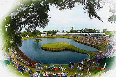 Ernie Els Wall Art - Digital Art - The Players Championship 2014 by Don Kuing