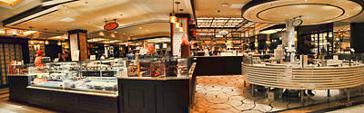 Photograph - The Plaza Food Hall by Paulette B Wright
