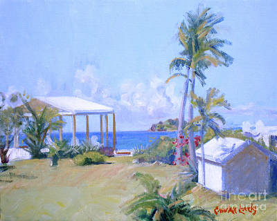 Saba Painting - The Point Morning Light by Candace Lovely