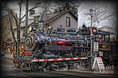 The Polar Express - Steam Locomotive IIi Art Print