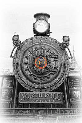 The Polar Express - Steam Locomotive Iv Art Print