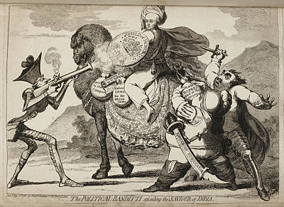 The Political-banditti Art Print by British Library