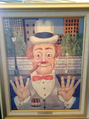 Red Skelton Painting - The Politician  #199/2500 by Red Skelton