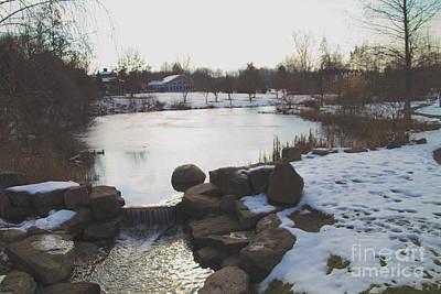 Photograph - The Pond Dam  by William Norton