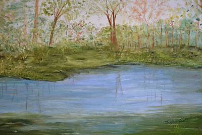 Painting - The Pond by Debbie Baker
