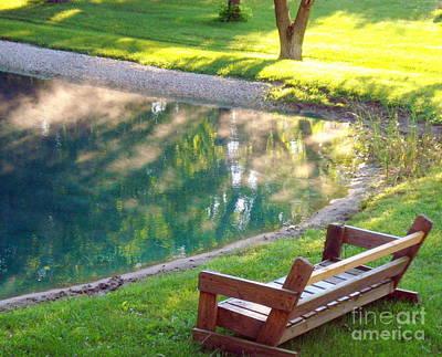 Photograph - The Pond by Rachel Munoz Striggow