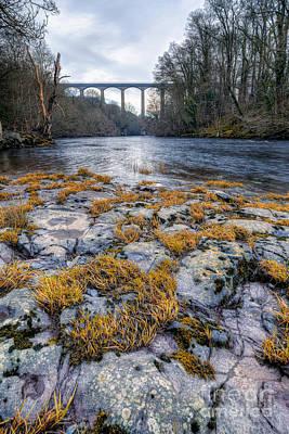 The Pontcysyllte Aqueduct Print by Adrian Evans