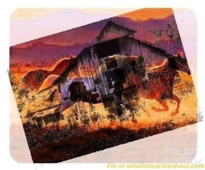 The Pony Express Art Print by PainterArtist FIN