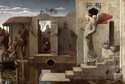 Religious Art Painting - The Pool Of Bethesda Signed And Dated by Litz Collection