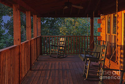 Photograph - The Porch Beckons by Kay Pickens