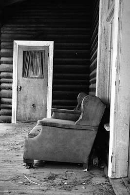 Photograph - The Porch by Holly Blunkall