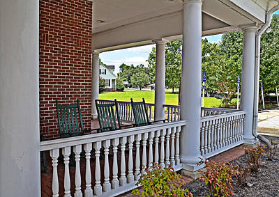 Photograph - The Porch by Linda Brown