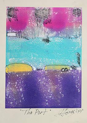 Landscape-like Art Painting - The Port by Hari Thomas