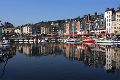 Photograph - The Port Of Honfleur by Aidan Moran
