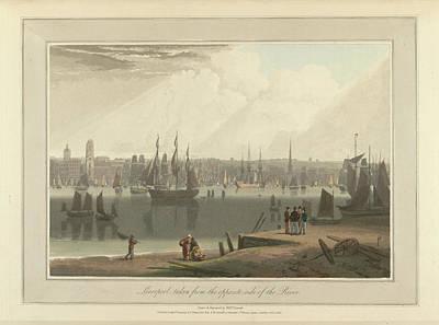 The Port Of Liverpool Art Print