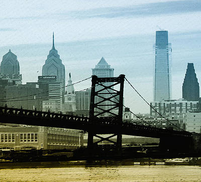Cityscape Of Philadelphia Photograph - The Port Of Philadelphia by Bill Cannon
