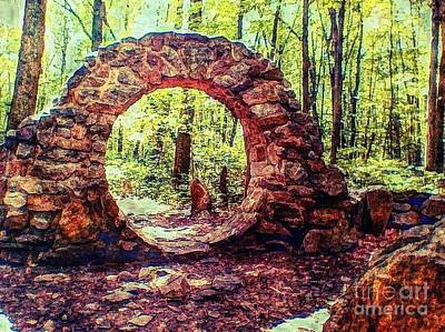 Photograph - The Portal To Love Life Peace 1 by Becky Lupe
